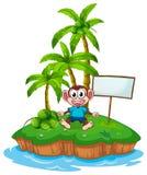 Monkey island Stock Image