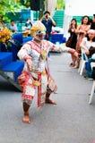 Monkey King Dance Royalty Free Stock Images
