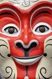 Monkey king facial makeup Stock Image