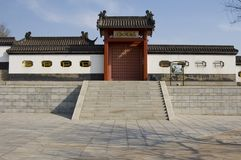 The Monkey King's Mansion Royalty Free Stock Images