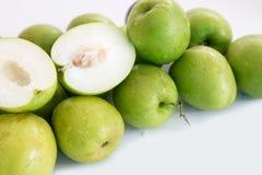 Monkey le fruit doux de pomme du bonbon de la Thaïlande comme la pomme verte Images stock