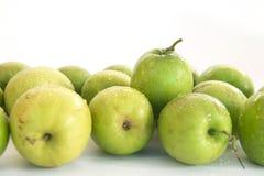 Monkey le fruit doux de pomme du bonbon de la Thaïlande comme la pomme verte Image libre de droits