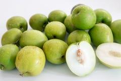 Monkey le fruit doux de pomme du bonbon de la Thaïlande comme la pomme verte Images libres de droits