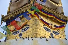 Monkey le temple Photo stock