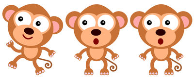 Monkey leads Stock Photography