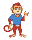 Monkey Mascot Royalty Free Stock Image