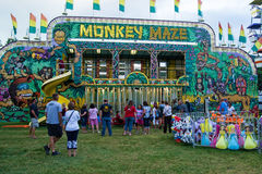 Monkey Maze / Funhouse Royalty Free Stock Photos
