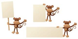 Monkey Message Stock Photo