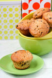 Monkey muffins Stock Photo