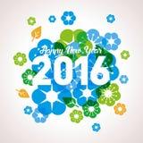Monkey New Year 2016 Royalty Free Stock Photo