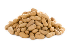Monkey nuts isolated Royalty Free Stock Photography