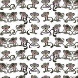 Monkey Patterns Royalty Free Stock Images