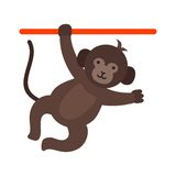 Monkey Performing Royalty Free Stock Images
