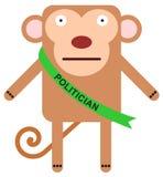 Monkey in politics Royalty Free Stock Photos