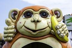 Monkey Ride Stock Photo