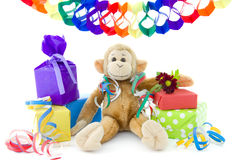 Monkey's birthday Stock Photography