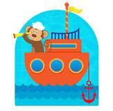 Monkey Sailor Stock Photos