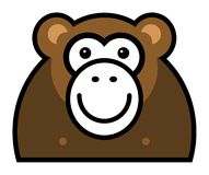 Monkey sign Royalty Free Stock Photography