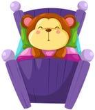Monkey sleeping Royalty Free Stock Photos