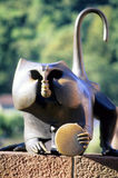 Monkey statue Stock Photography