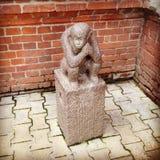 Monkey statue Royalty Free Stock Image