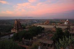 Monkey Temple (Hanuman) in Hampi, India. Royalty Free Stock Photo