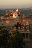 Monkey Temple (Hanuman) in Hampi, India. Stock Images