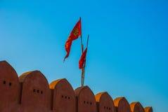 Monkey temple. Jaipur. India. Royalty Free Stock Image