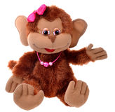 Monkey toy Stock Photo