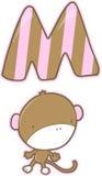 Monkey Vector Illustration Royalty Free Stock Image