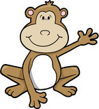Monkey Vector Illustration Stock Photo