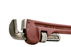 Monkey wrench Royalty Free Stock Photo