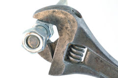 Monkey Wrench Royalty Free Stock Photography