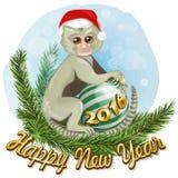 Monkey 2016 Royalty Free Stock Photo