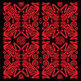 monkeys красный цвет иллюстрация штока