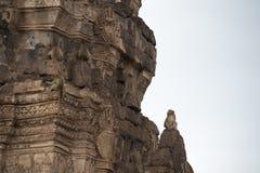 Monkeys at Prang Sam Phaya. Historical Site, Lop Buri, Thailand Royalty Free Stock Photography