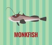 Monkfish Fotografía de archivo