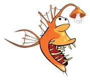 Monkfish Deep-water fish Cartoon Royalty Free Stock Photography