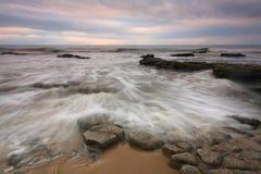 Monknash海滩,威尔士,英国 库存图片