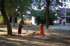 monks fotografie stock libere da diritti