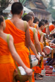 monks fotografia stock