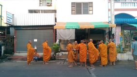 monks foto de archivo
