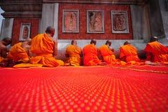 monks Fotografía de archivo libre de regalías