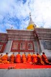 monks Fotografía de archivo