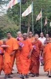 monks Imagem de Stock