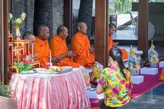 monks immagine stock