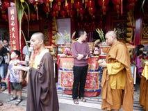 monks fotografie stock