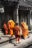 Monks Royalty Free Stock Photos