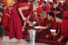 monks Arkivfoton