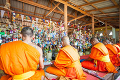 Monks Royalty Free Stock Photos